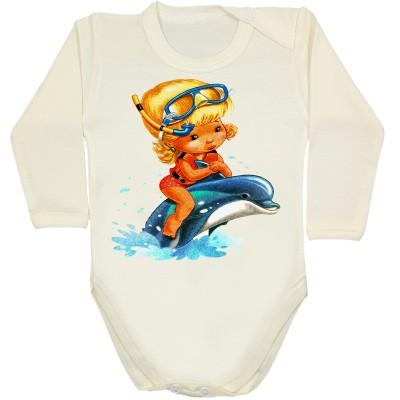 Lalka  z delfinem