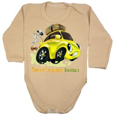 Samochód żółty